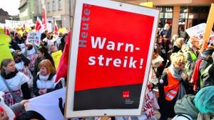 Warnstreik am Universitätsklinikum Frankfurt geplant