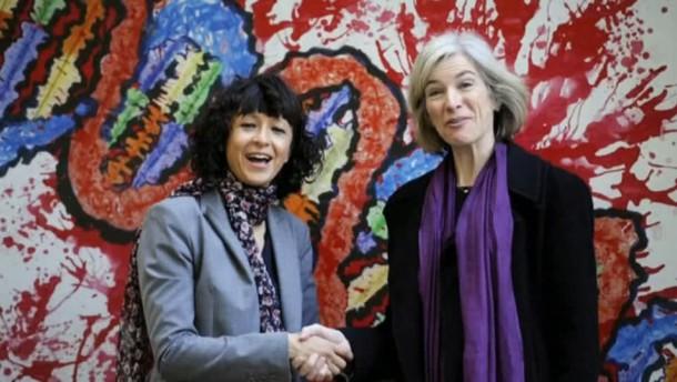 Chemie-Nobelpreis geht an zwei Genforscherinnen
