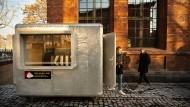 Wiedereröffnung des Kulturzentrums in Mainz: Der alte Kassenwagen bleibt – alles andere ist neu.