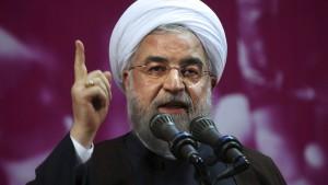 """Rohani wirft Amerika """"psychologische Kriegsführung"""" vor"""