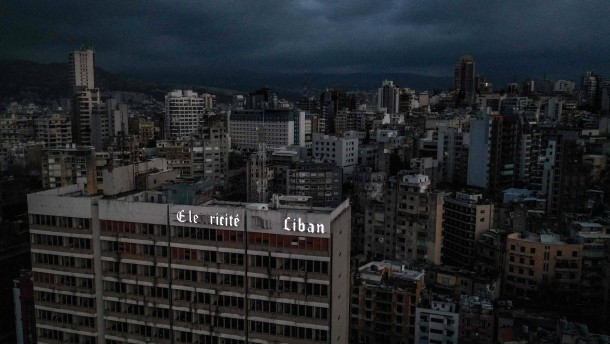 Libanon ohne Strom