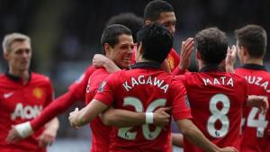 United besteht ohne verletzten Rooney