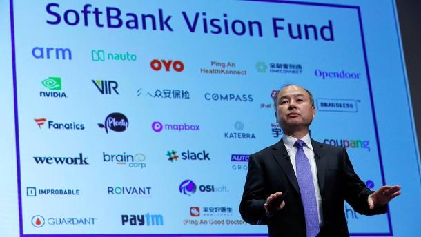 Softbank macht mehr als 6 Milliarden Euro Verlust