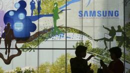 Samsungs Gewinne gehen den Bach runter