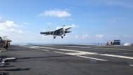 China fängt amerikanischen Aufklärungsflieger ab