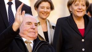 Witwe Kohls wollte keine Merkel-Rede bei Staatsakt