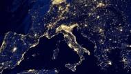 Bilder der Nasa zeigen die Erde bei Nacht