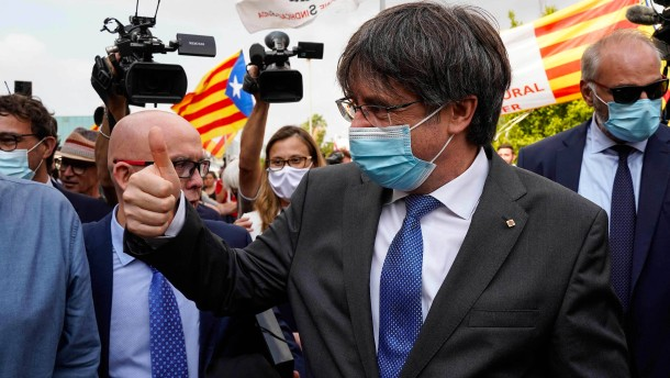 Italien liefert Puigdemont vorerst nicht an Spanien aus