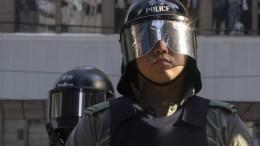 Zwei Deutsche in Hongkong festgenommen