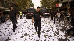 Millionen Stimmzettel für katalanisches Referendum in Frankreich gedruckt