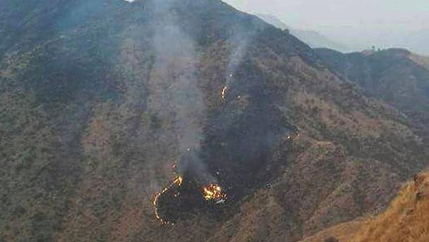 Passagierflugzeug in Pakistan abgestürzt