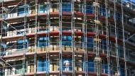Bau von Eigentumswohnungen im Berliner Stadtteil Prenzlauer Berg