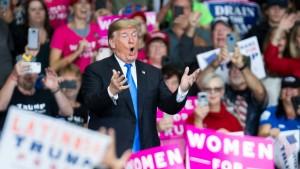"""Trump: """"Mich trifft keine Schuld"""""""