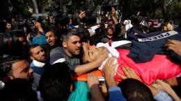 Israel schießt auf militante Palästinenser