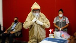 Mehr als 20 Millionen Infizierte weltweit