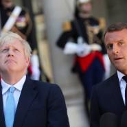 Klare Worte von Präsident Macron: Wenn Großbritannien am 31. Oktober die EU ohne Abkommen verlasse, dann sei das allein die Verantwortung der britischen Regierung – und nicht der EU.