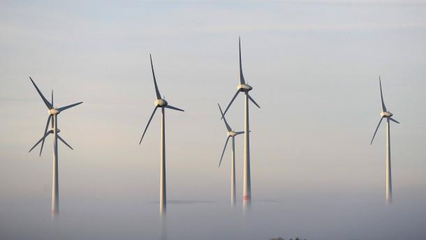 Eintausend Fußballfelder für die Windparks