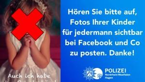 Warum es gefährlich ist, Bilder seiner Kinder online zu stellen