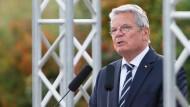 Gauck übt scharfe Kritik an Russland