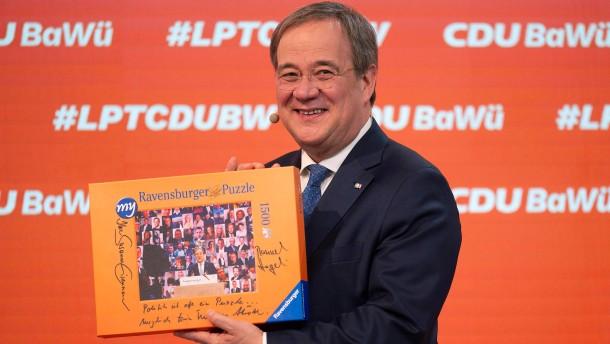CDU profitiert von Laschets Aufstieg