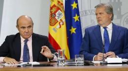 Spanische Regierung entschuldigt sich für Polizeieinsatz