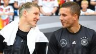 Gemeinsam treten sie nicht mehr auf: Schweinsteiger und Podolski