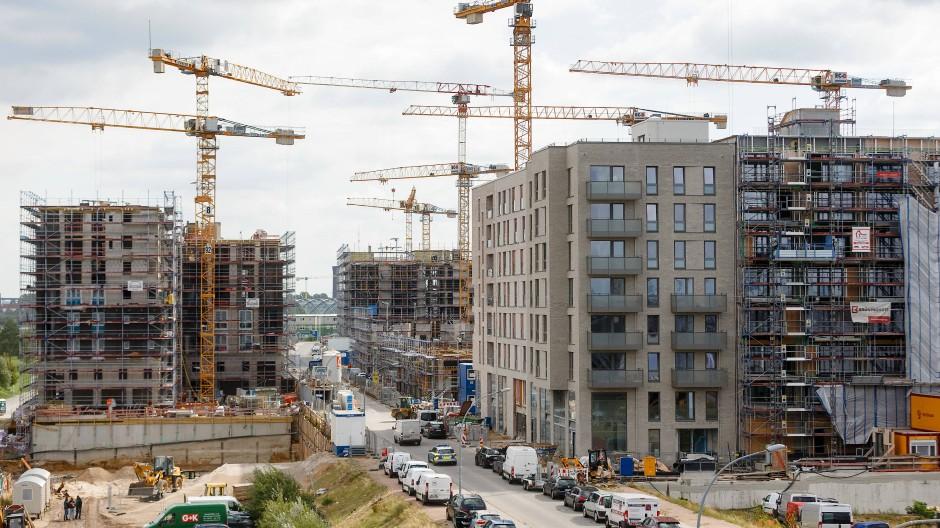 Neubauten in Hamburg
