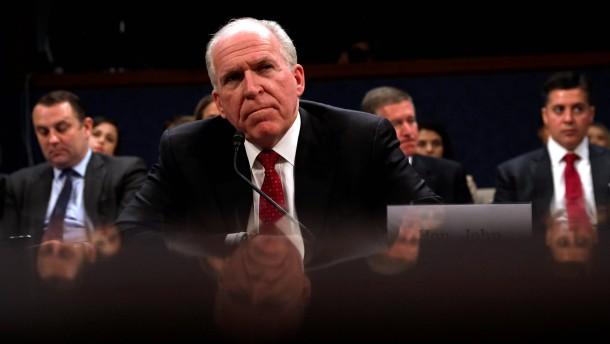 Ex-CIA-Chef: Trumps Wahlkampfteam hatte Kontakte zu Russland