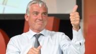 CDU-Landesvorsitzende Thomas Strobl: Daumen hoch für die Grün-Schwarze Landesregierung in Baden-Württemberg.