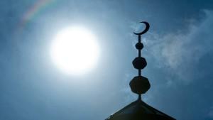 Einbrecher zündelt in Moschee