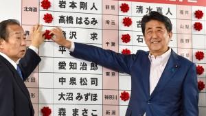 Shinzo Abe gewinnt Oberhauswahl
