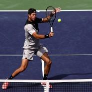 So geht es: Der Argentinier Juan Martin del Potro fügt Roger Federer in Indian Wells seine erste Niederlage in diesem Jahr zu.