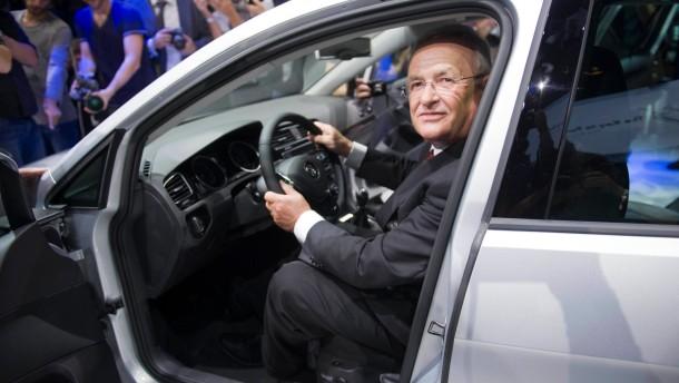 VW-Chef Winterkorn will durch Baukastenprinzip Milliarden sparen