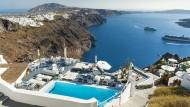 Bei Deutschen beliebt: Griechenland (hier in Santorini)