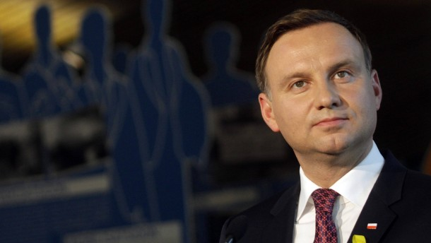 Duda lobt  Merkels Politik gegen Moskau
