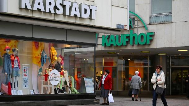 Eckpunkte einer Fusion von Karstadt und Kaufhof stehen