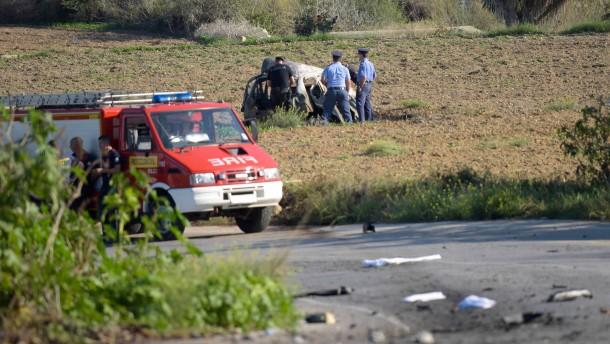 Autobombe tötet maltesische Bloggerin