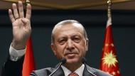 Der türkische Präsident Erdogan kritisiert Europas Umgang mit seinem Land.