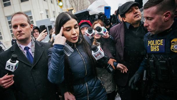 """Ehefrau von """"El Chapo"""" in Washington festgenommen"""