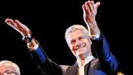Laurent Wauquiez führt künftig Frankreichs Konservative.