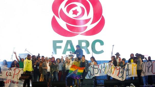 Farc-Rebellen gründen politische Partei