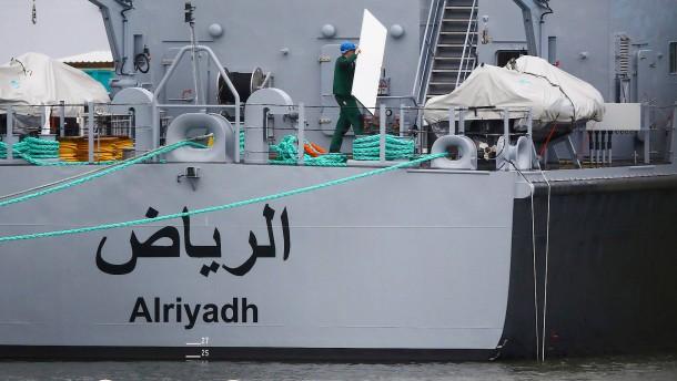 Rüstungsexport-Stopp zwingt Peene-Werft zur Kurzarbeit