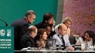 Bis zuletzt rangen die Delegierten um Formulierungen und Ergebnisse