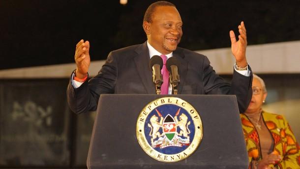Staatschef Kenyatta zum Sieger erklärt