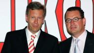 """Derzeit eine brisante Beziehung: Christian Wulff und der Chefredakteur der """"Bild""""-Zeitung Kai Diekmann"""