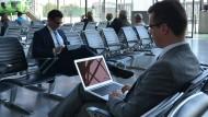 Laptops dürfen vorerst weiter mit in die Kabine
