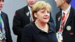 Merkel: Gipfel ist Durchbruch zur Stabilitätsunion