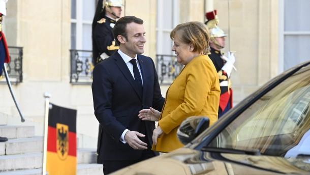 Merkel, Macron und die Vision einer europäischen Industriepolitik