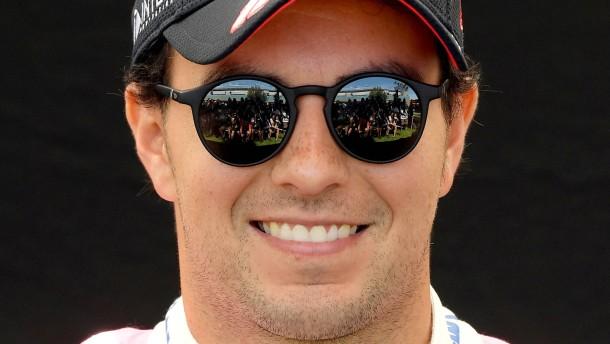 Formel-1-Fahrer Perez positiv getestet