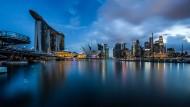 Reicher Stadtstaat am Meer: Singapur will sich langfristig gegen die Folgen des Klimawandels rüsten.